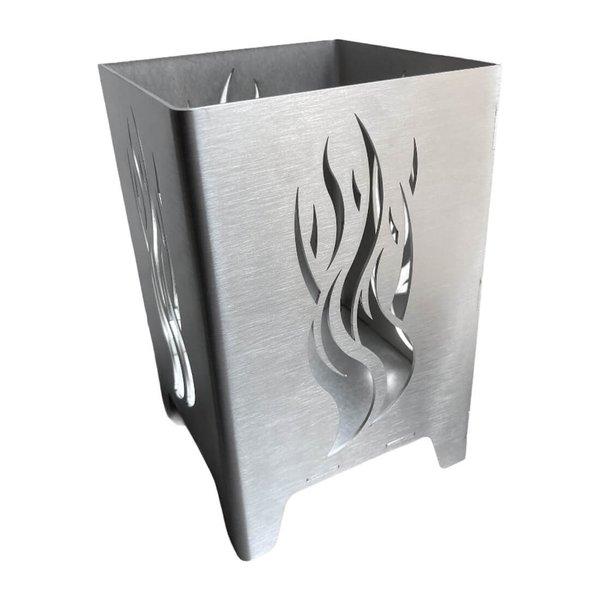 Mini Feuerwürfel mit Flamme als Motiv