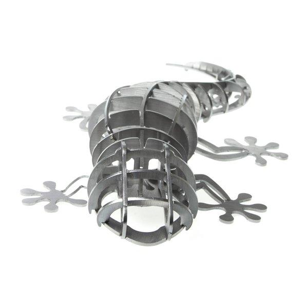 Steckfigur/3D Puzzle Gecko