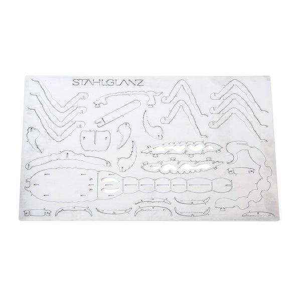 Steckfigur/3D Puzzle Skorpion